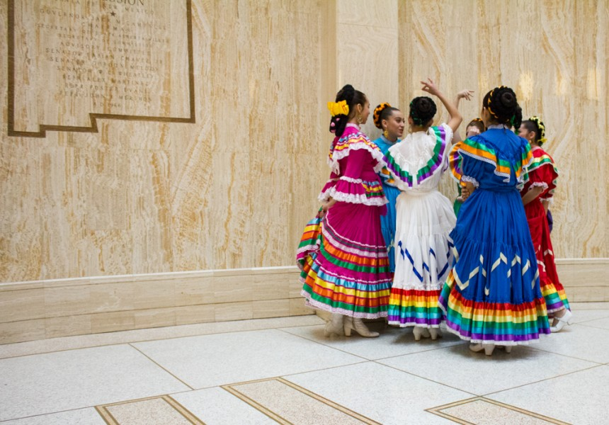 In celebration of New Mexico's history and culture, the Capital celebrates with traditional dance and music.