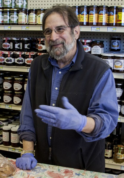Dennis Dampf, one time co-owner of El-Nido, bread sample hander-outer, and elbow rubber extraordinaire