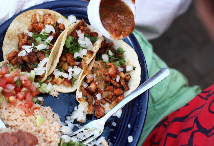 Contrary to popular belief Mexicans don't usually eat burritos. Tacos are the most common dish.