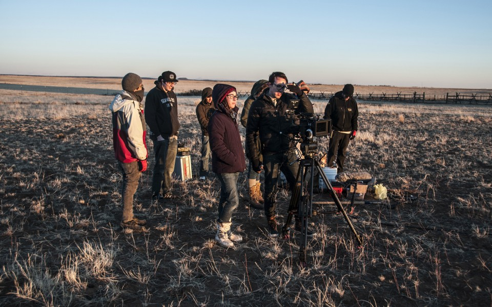 Seth Fuller and crew on location for U46-Anomaly