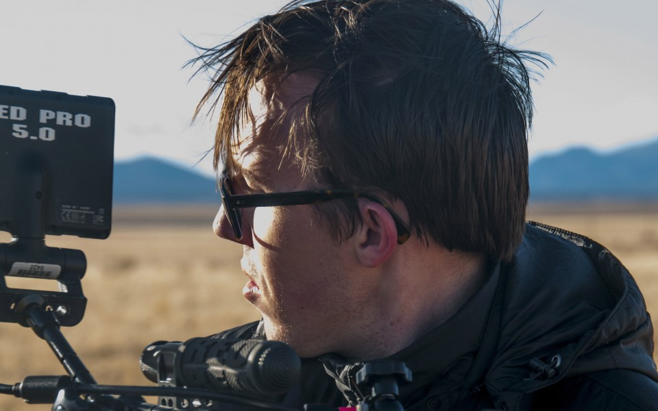 Seth Fuller on location for his film U46-Anomaly