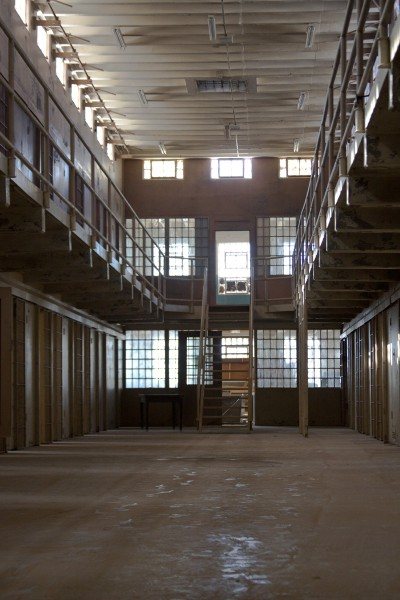 Cell block three, believed to be the location of the first murder.
