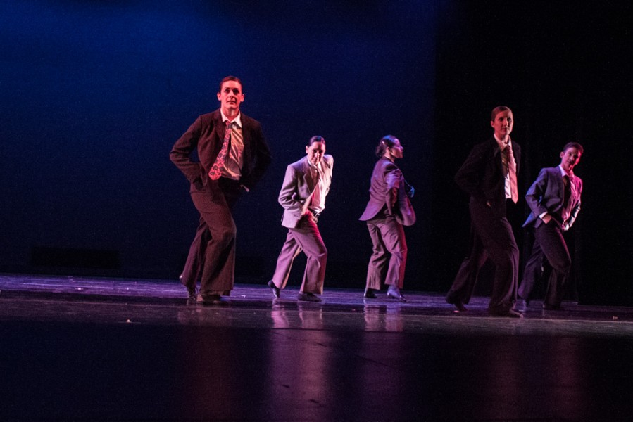 Guest Artists performing Madame Sand. Photo by Chris Stahelin