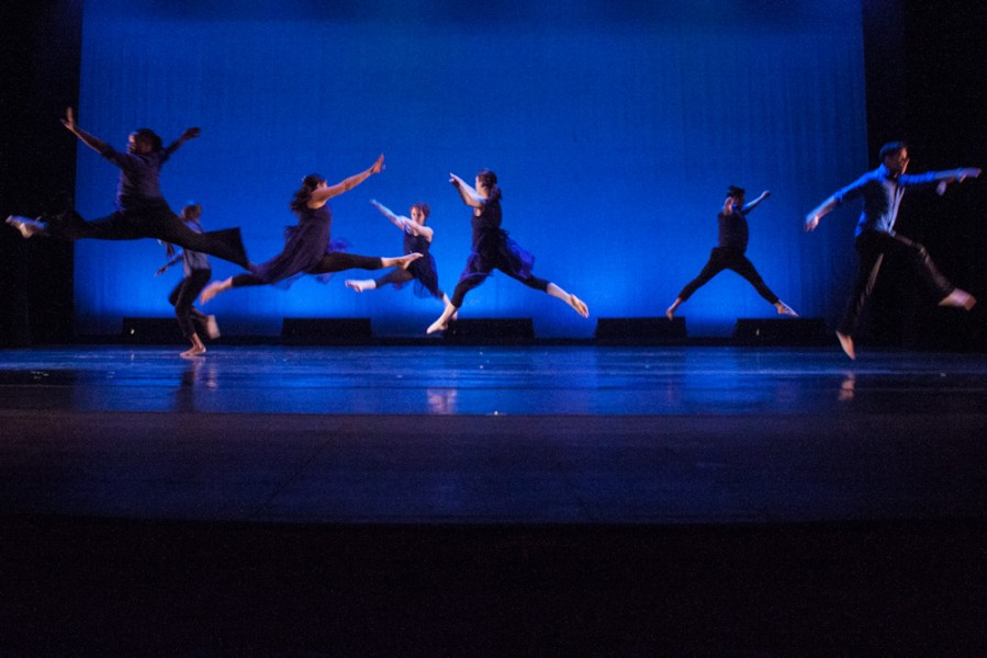 Yusef Seevers, Alexandria Chavez and others in Magic. Photo by Chris Stahelin