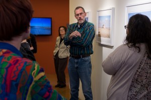"O""Connell discusses his personal experiences with making and exhibiting his work with SFUAD photography students."