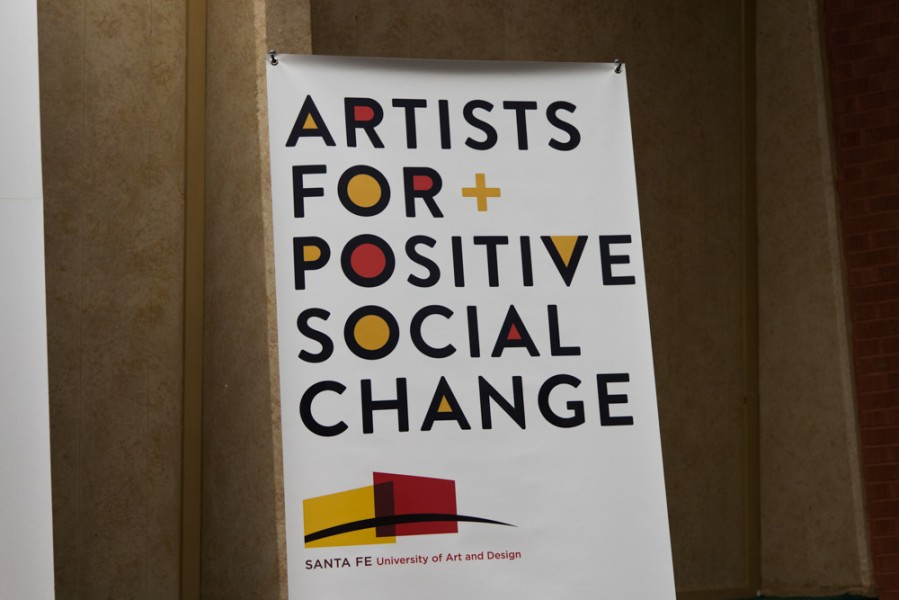 Artists For Positive Social Change is an annual SFUAD event. Photo by Amanda Tyler.