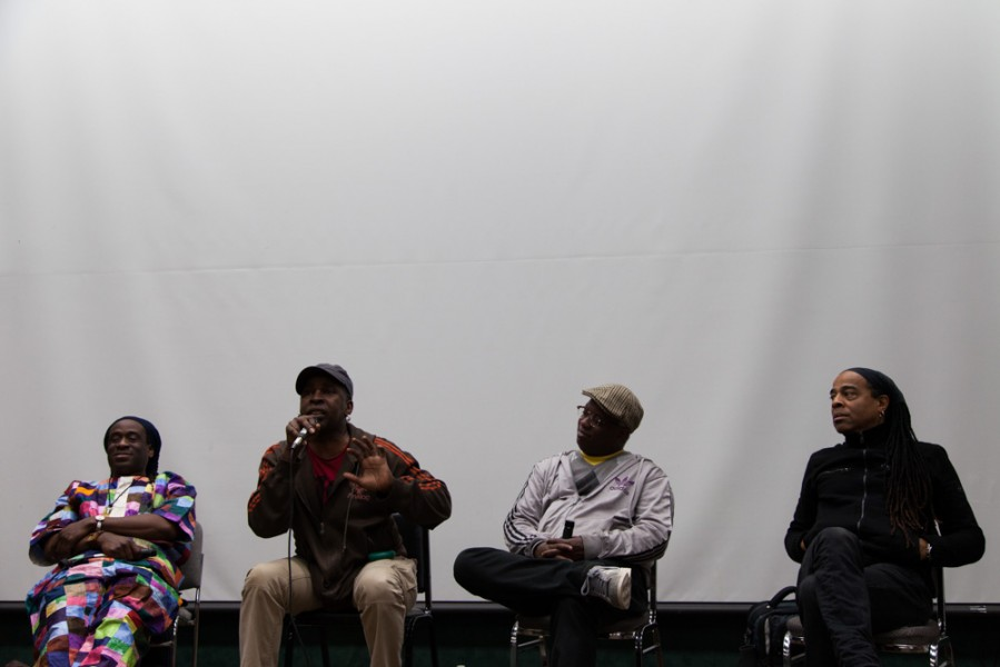Living Colour gathers to answer questions, give advice, and discuss their musical careers. Photo by Amanda Tyler.