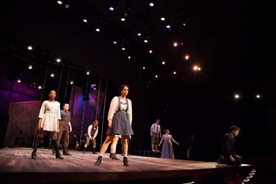 Spring Awakening will be performed for two weekends at SFUAD's Greer Garson Theatre. Photo by Amanda Tyler.