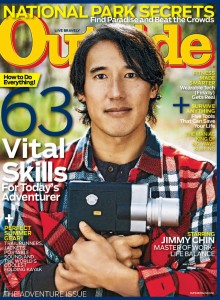 May 2014 cover of Outside Magazine
