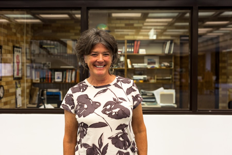 Margaret Van Dyk, the library director