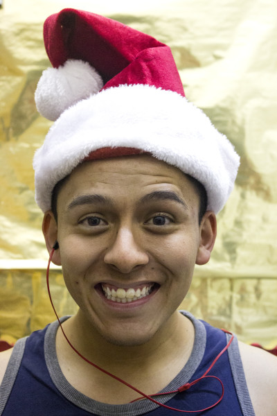 Cristian Márquez is excited to celebrate Christmas with his family.