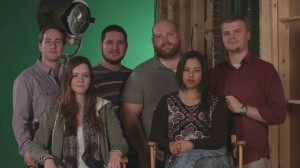 (left to right) Vincent Mann, Allyson Phillips, David Roth, Phil Hudson, Sarah Oquendo and __
