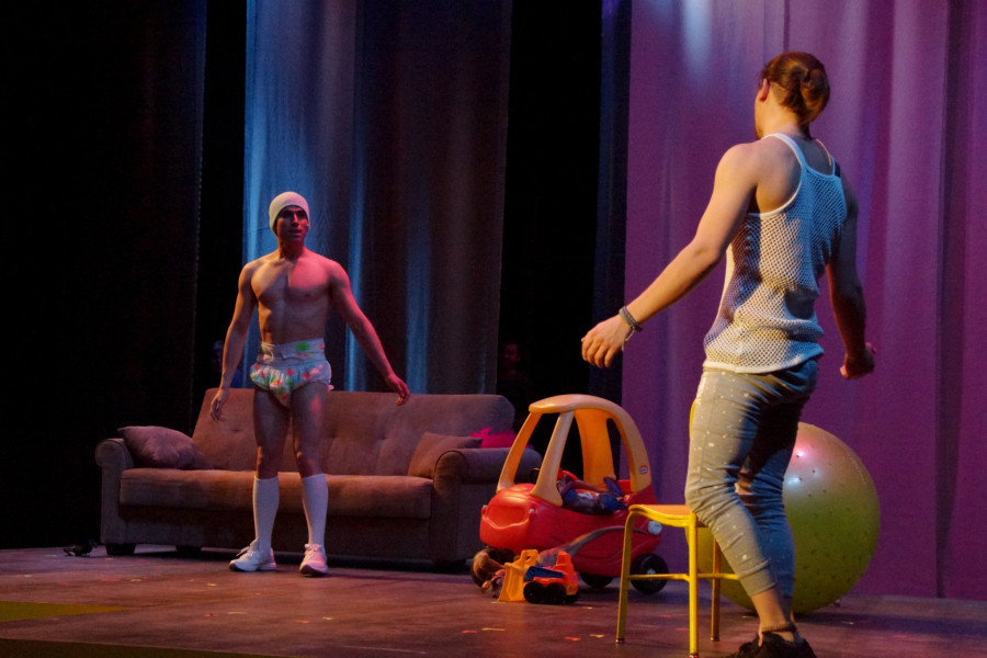 I Love You, You're Perfect, Now Change writtten by Joe Dipietro and directed by Gail Springer. Photo by Luke E. Montavon