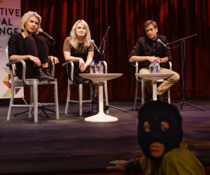 "Pussy Riot agrees: ""We are all Pussy Riot."" Photo by Ashley Costello"