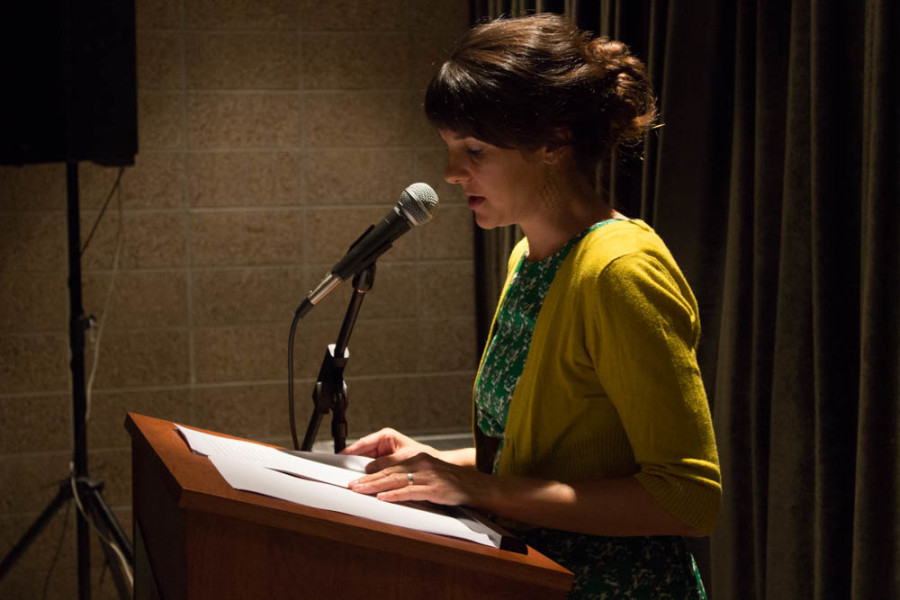 "Anne Valente reads from her short story, ""A Call to Memory."""