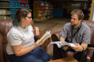 Melinda Freudenberger and Andrew Koss discuss their favorite books.