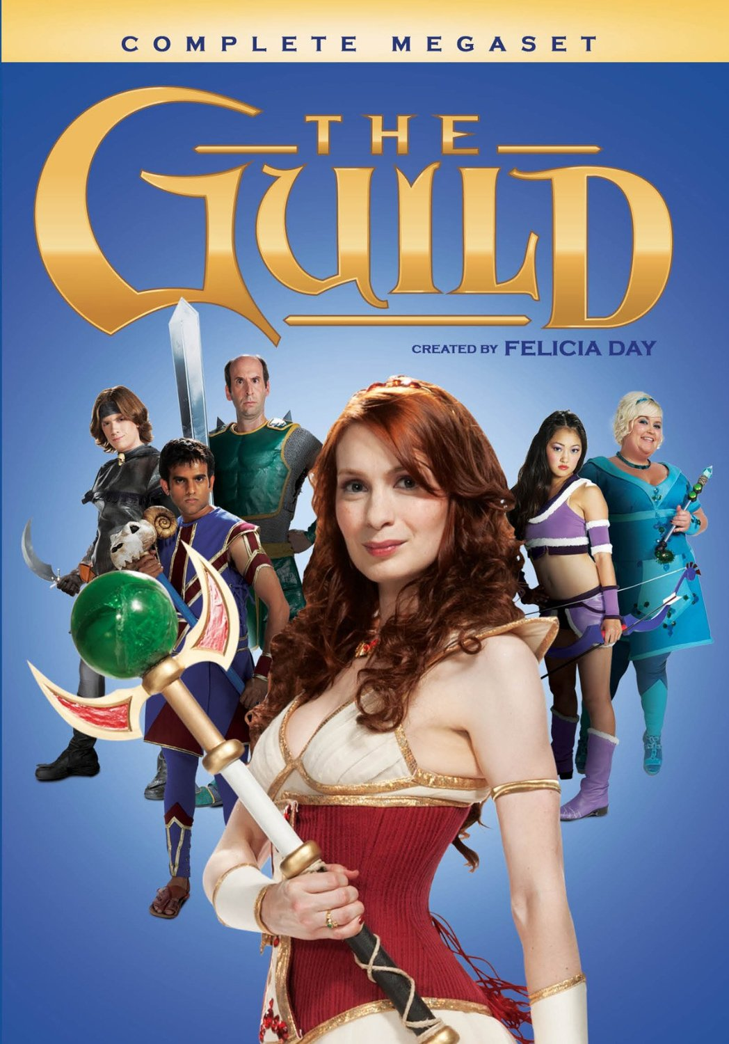 The Guild web series DVD megaset cover.