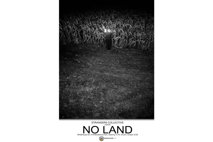 No Land will be shown at Wheelhouse Art Through October 28. No Land promotional image courtesy of Strangers Collective.