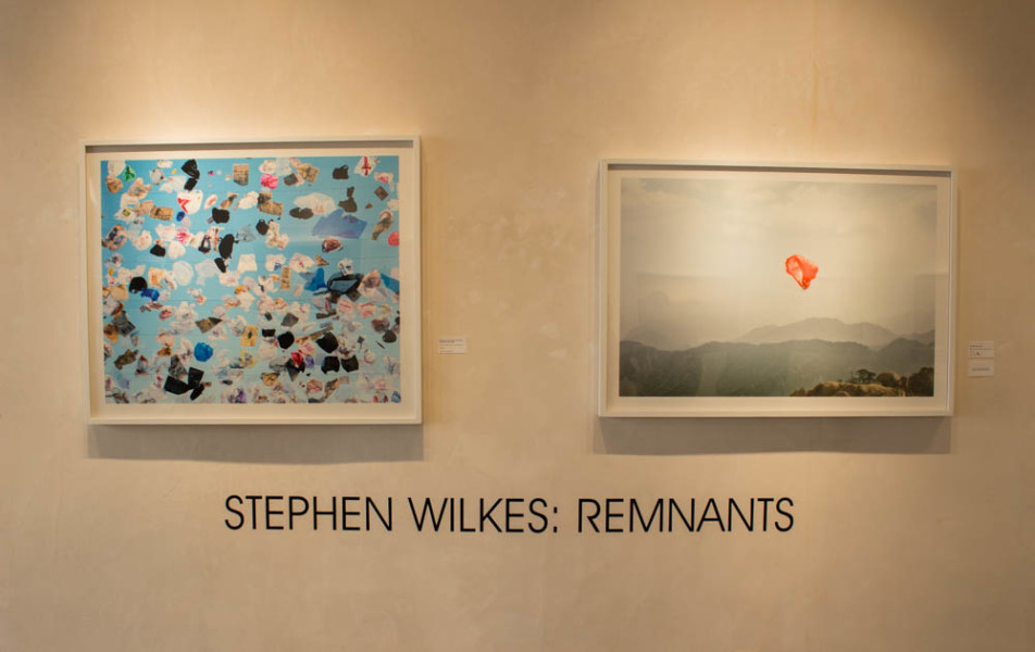 The show Remnants by Stephen Wilkes will be up until Nov. 22. Photo By Kyleigh Carter.