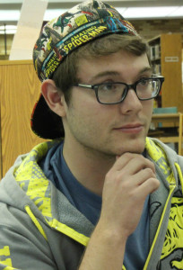 First assistant director Riley Gardner plans to make this year run smoothly.  Photo by Lauren Eubanks.