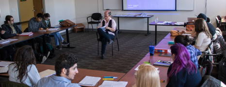 Kate Reid Teaches Songwriting Class