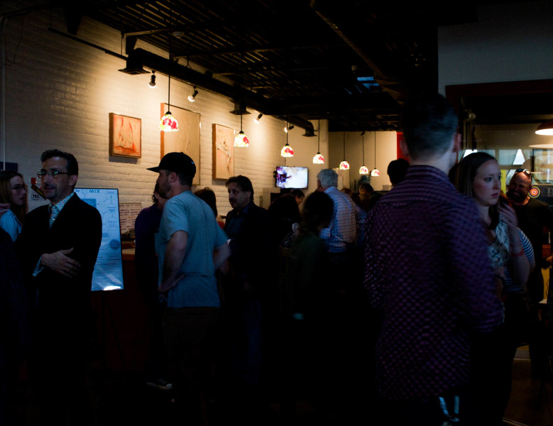 Crowd at the Mixolote this past weekend. Photo by Whitney Wernick.