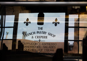 French Pastry shop at the La Fonda hotel. Photo by Christina Marshall