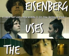 Jesse Eisenberg Uses the Urinal