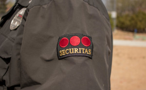 Securitas is the contracting company that supplies SFUAD with officers. Photo by Richard Sweeting