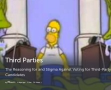 Third Party Politics