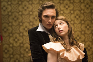 "Bethany Whitmore ""Greta"" with Eamon Farren as ""Adam"" in Girl Asleep."