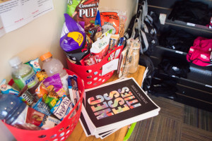 "Friends and family can now send care packages to students depending on their preferences such as the ""Workout Care Package"" as well as the ""Gluten Free"" care package (both pictured). Photo by Jennifer Rapinchuk"