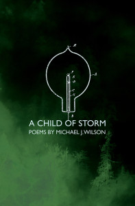 Michael J. Wilson's 'A Child of Storm' publishes Oct. 10, 2016. Photo courtesy of Stalking Horse Press.