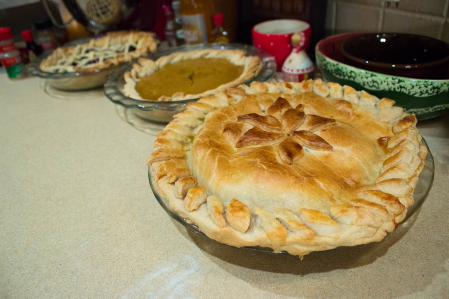 No matter what you celebrate, everyone enjoys  a holiday pie. Photo by Amaya Hoke.