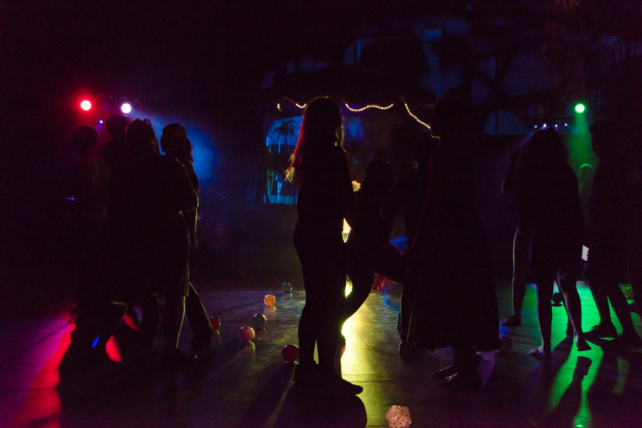 Numerous students hit the dance floor as the event progressed. Photo by Sasha Hill
