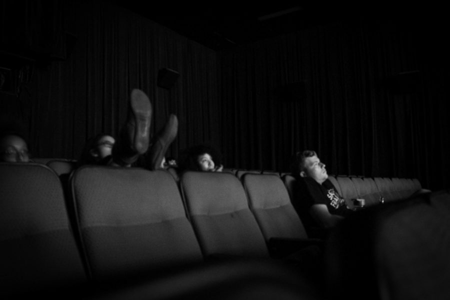 Students relaxing and enjoying the showing of Lion King. Photo by: Hawie Reyne Veniegas