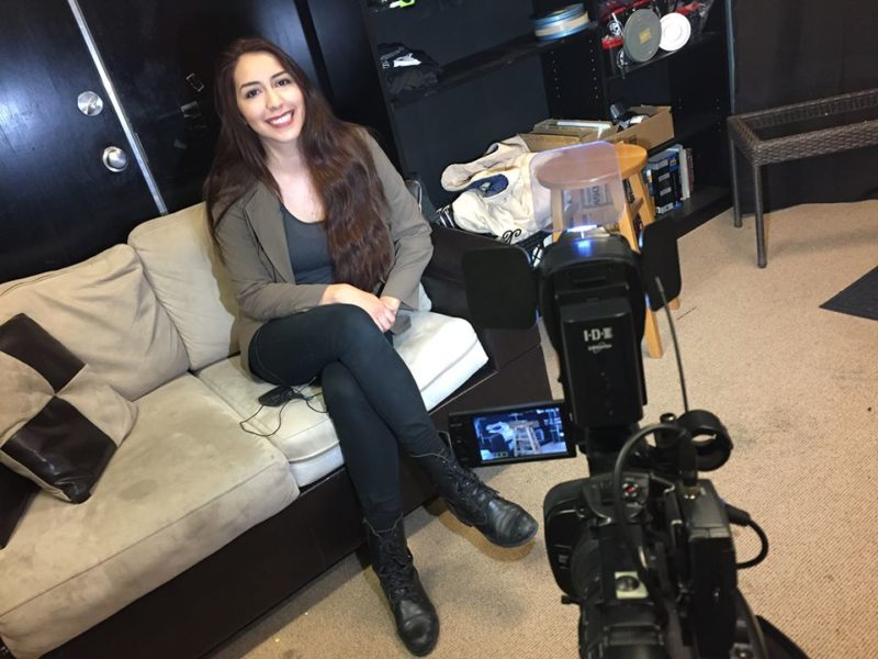 Alejandra Castro is interviewed about the film Paperless.