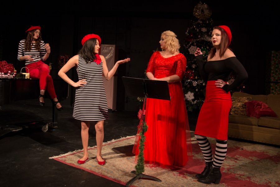'The Semi-Amazing, Sort of Sensational, Almost Unbelievable Christmas Spectacular' is only thirty minutes long but will sure to have you laughing all the way through the performance. Photo by Jason Stilgebouer