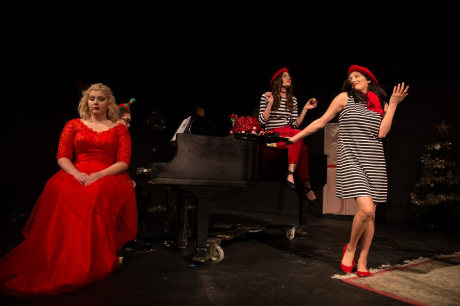 'The Semi-Amazing, Sort of Sensational, Almost Unbelievable Christmas Spectacular' for some will be the last performance at  SFUAD. Photo by Jason Stilgebouer